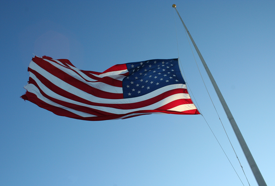 obama  finally  lowers the flag for fallen military  u2013 fix